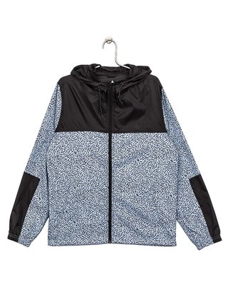 Element ALDER TW RIVER BED BLUE podzimní bunda pro děti - černá