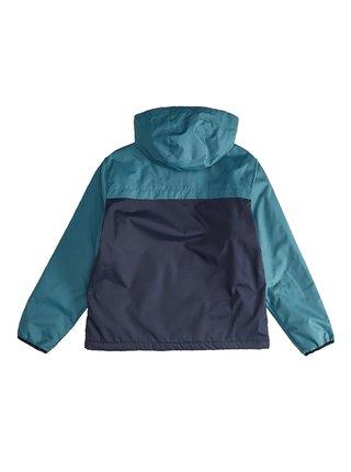 Billabong TRANSPORT WINDBREAKE EMERALD podzimní bunda pro děti - modrá