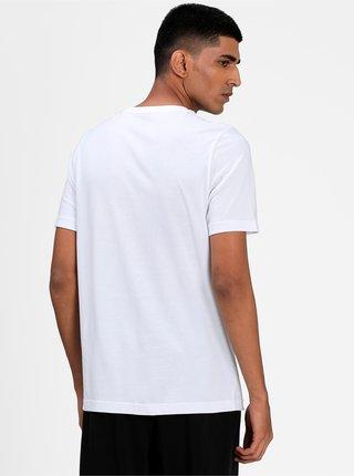 Biele pánske tričko s potlačou Puma