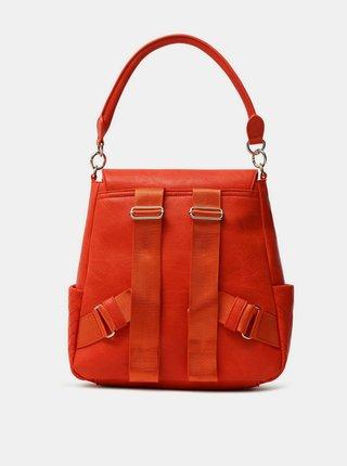 Desigual červené ruksak Back Lyrics Positano Coral