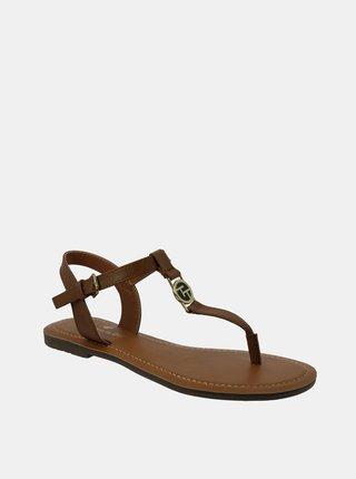 Hnědé dámské sandály Tom Tailor