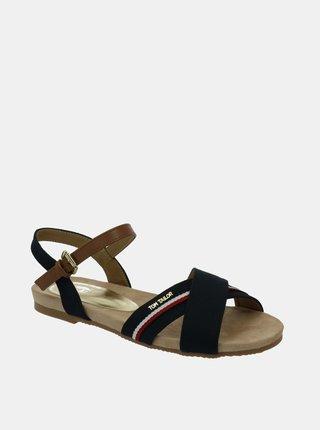 Tmavě modré dámské sandály Tom Tailor