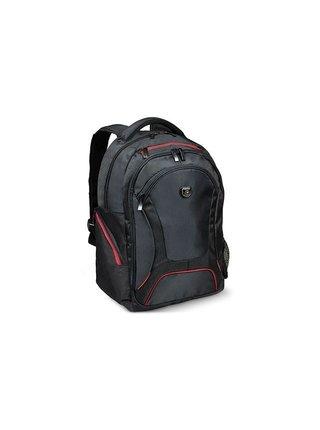 PORT DESIGNS COURCHEVEL batoh na 17,3'' notebook a 10,1'' tablet, černo-červený
