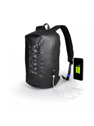 PORT DESIGNS SAUSALITO BACKPACK batoh na 15,6'' notebook a 10,1 tablet, černý