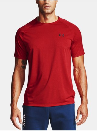 Tričko Under Armour Tech 2.0 SS Tee Novelty - červená