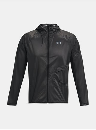 Bunda Under Armour UA Qualifier Packable Jacket - šedá