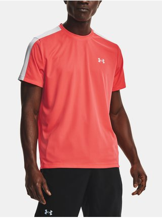 Tričko Under Armour Speed Stride Short Sleeve - červená