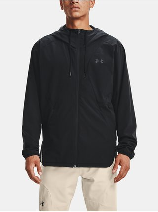 Bunda Under Armour UA WOVEN WINDBREAKER - černá
