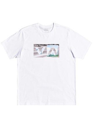 RVCA BALANCE BOX white pánské triko s krátkým rukávem - bílá