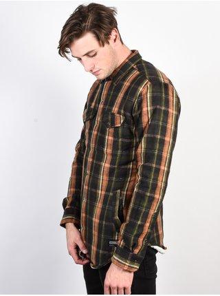 Ezekiel Deckhand COC pánské košile s dlouhým rukávem - černá
