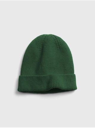 Zelená pánská čepice GAP