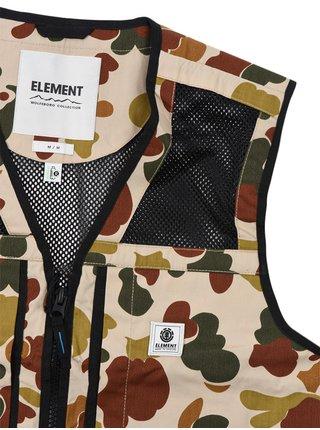 Element FORAGER LIGHT SAND CAMO podzimní bunda pro muže - zelená