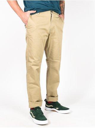RVCA THE WEEKEND STRETCH KHAKI plátěné kalhoty pánské - béžová
