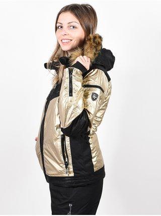 Rehall HANNAH GOLD zimní dámská bunda - černá