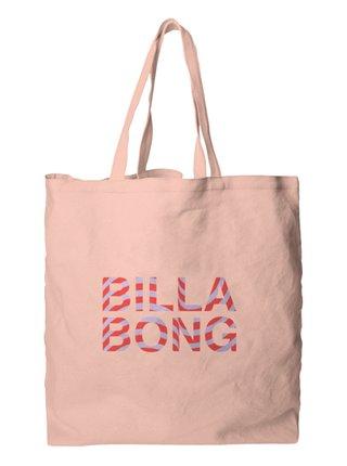 Billabong ALL ABOUT IT TROPCL PEACH plážová taška