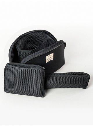Rip Curl MIX WAVE BEAUTY POUC black toaletní taška pro muže - černá