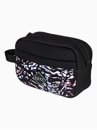 Roxy BEAUTIFULLY NEOPRENE TRUE BLACK IZI toaletní taška pro muže - černá