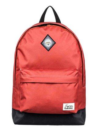 Quiksilver EVERYDAY POSTER PATC BURNT BRICK batoh do školy - červená