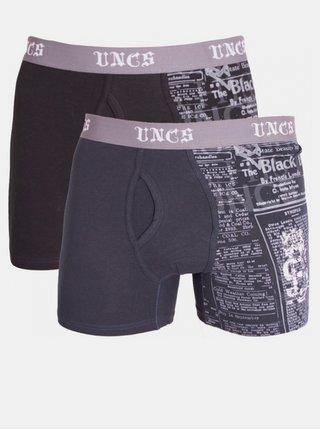 2PACK pánské boxerky UNCS Angelo