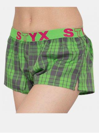 Dámské trenky Styx sportovní guma vícebarevné