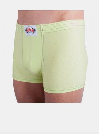 Pánské boxerky Styx klasická guma zelenkavé
