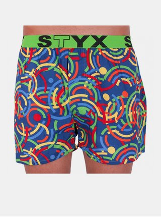 Pánské trenky Styx art sportovní guma barevné