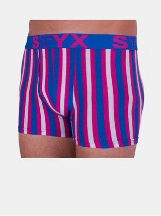 Pánské boxerky Styx sportovní guma vícebarevné
