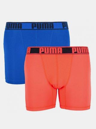 2PACK pánské boxerky Puma sportovní vícebarevné