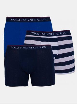3PACK pánské boxerky Ralph Lauren vícebarevné