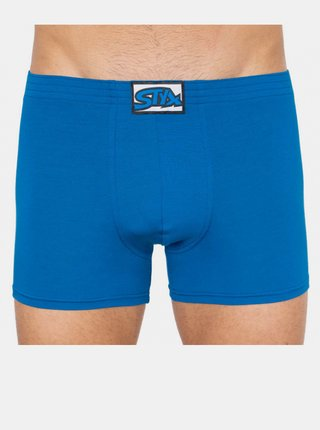 Pánské boxerky Styx long klasická guma modré