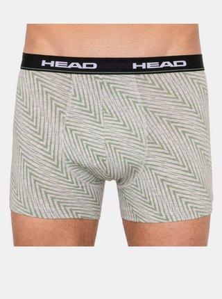 2PACK pánské boxerky HEAD vícebarevné