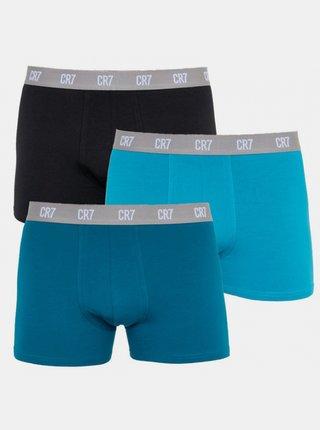 3PACK pánské boxerky CR7 vícebarevné