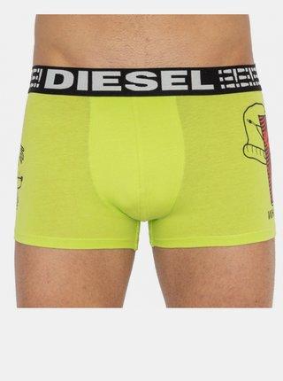 Pánské boxerky Diesel žluté