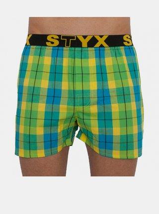 Pánské trenky Styx sportovní guma vícebarevné