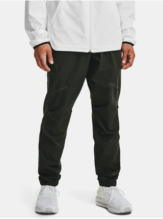 Kalhoty Under Armour UNSTOPPABLE CARGO PANTS - zelená