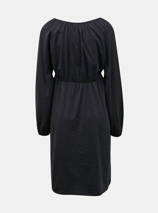 Tmavě modré těhotenské šaty Mama.licious Regina