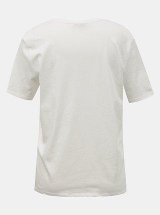 Bílé tričko s potiskem Jacqueline de Yong Hyde