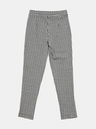 Bílo-černé holčičí kostkované kalhoty Hailys