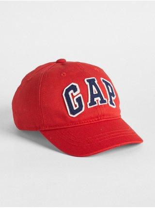 Detská šiltovka GAP Logo baseball hat Červená