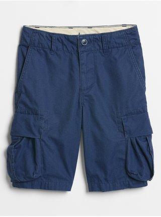 Detské kraťasy cargo shorts Modrá