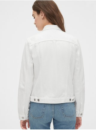 Džínová bunda icon denim jacket Biela