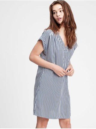 Modré dámské šaty GAP v-ss vnk dress