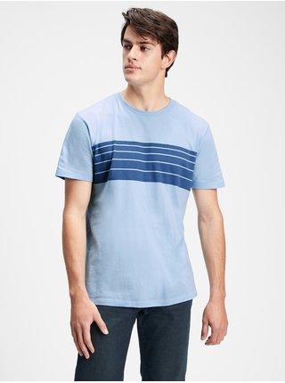 Tričko everyday stripe t-shirt Modrá