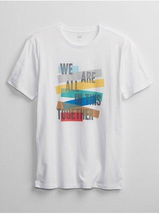 Tričko graphic t-shirt Biela