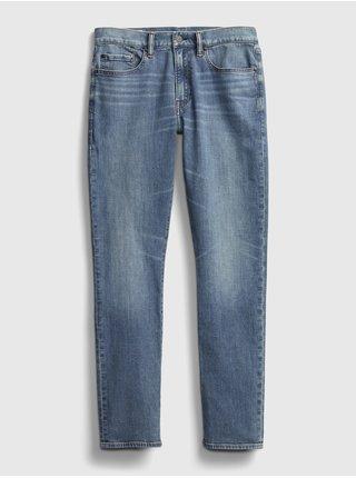 Modré pánské džíny GAP slim lightweig