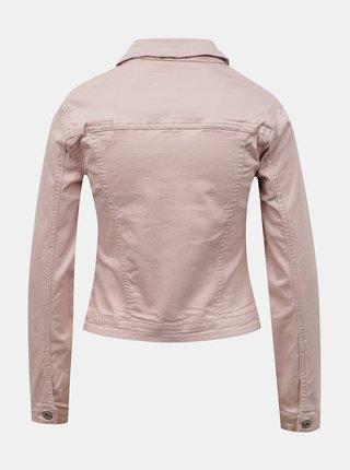 Růžová džínová bunda Hailys