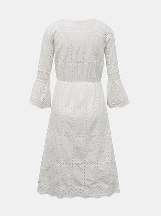 Bílé šaty s madeirou Zabaione