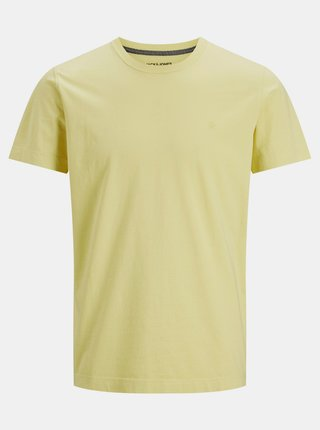 Žluté tričko Jack & Jones