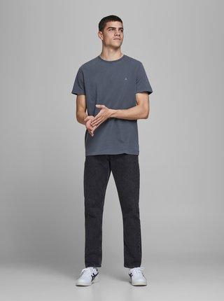 Tmavomodré tričko Jack & Jones