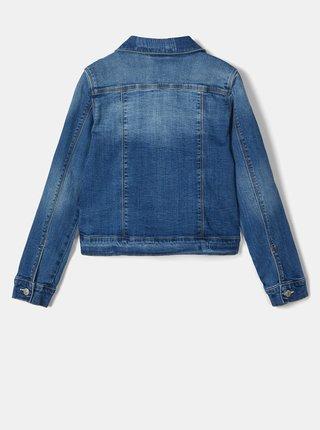 Modrá dievčenská rifľová bunda name it